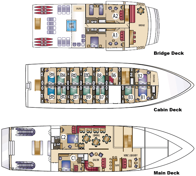 My English Pages Online Cruise Ships Deck Plans