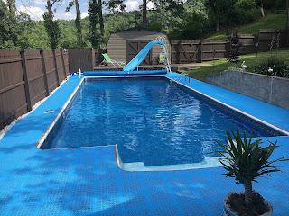 Greatmats staylock tiles wet area pool floor tiles