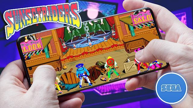 Sunset Riders Para Teléfonos Android (ROM SEGA)