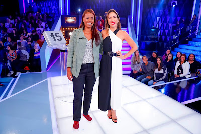Patricia e Valdenise (Fotos: Gabriel Cardoso/SBT)