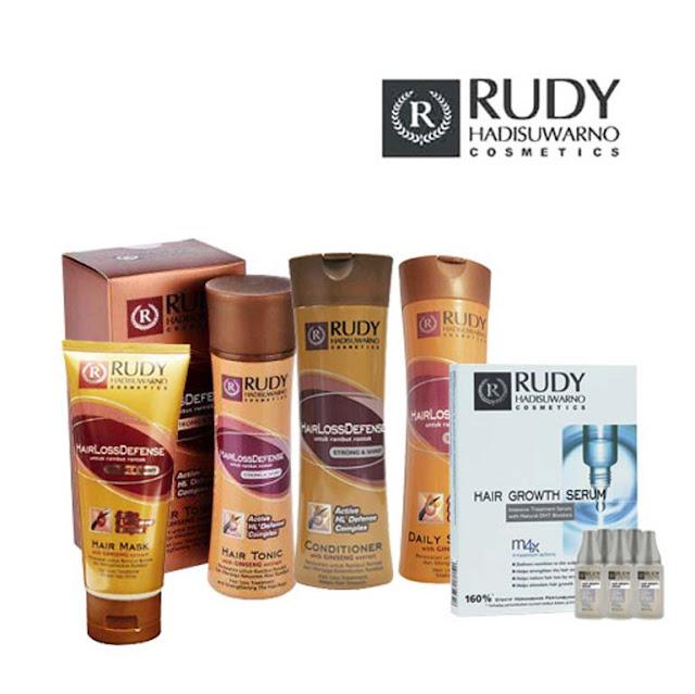 Mengatasi rambut rontok dengan rangkaian produk Rudy hadisuwarno
