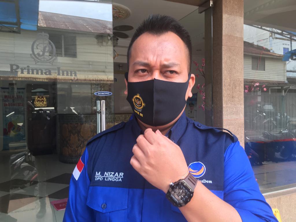 Ketua DPD NasDem Lingga Kutuk Keras Kader Penghianat