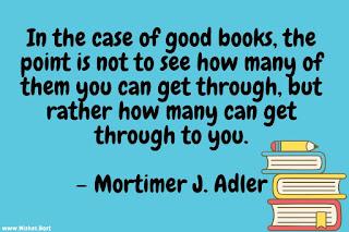 reading books quote
