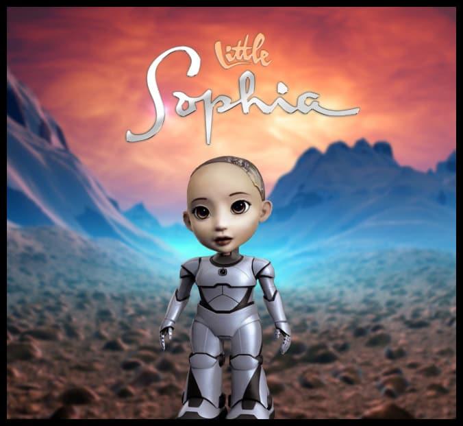 Little Sophia Robot