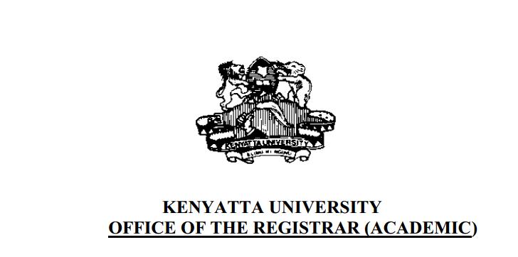 Kenyatta University Admission Letters
