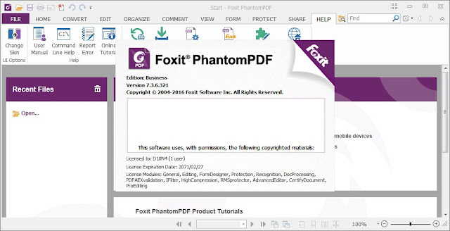 Foxit PhantomPDF Business Crack Full Version