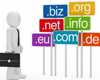 cara menjadi blogger sukses - domain tld