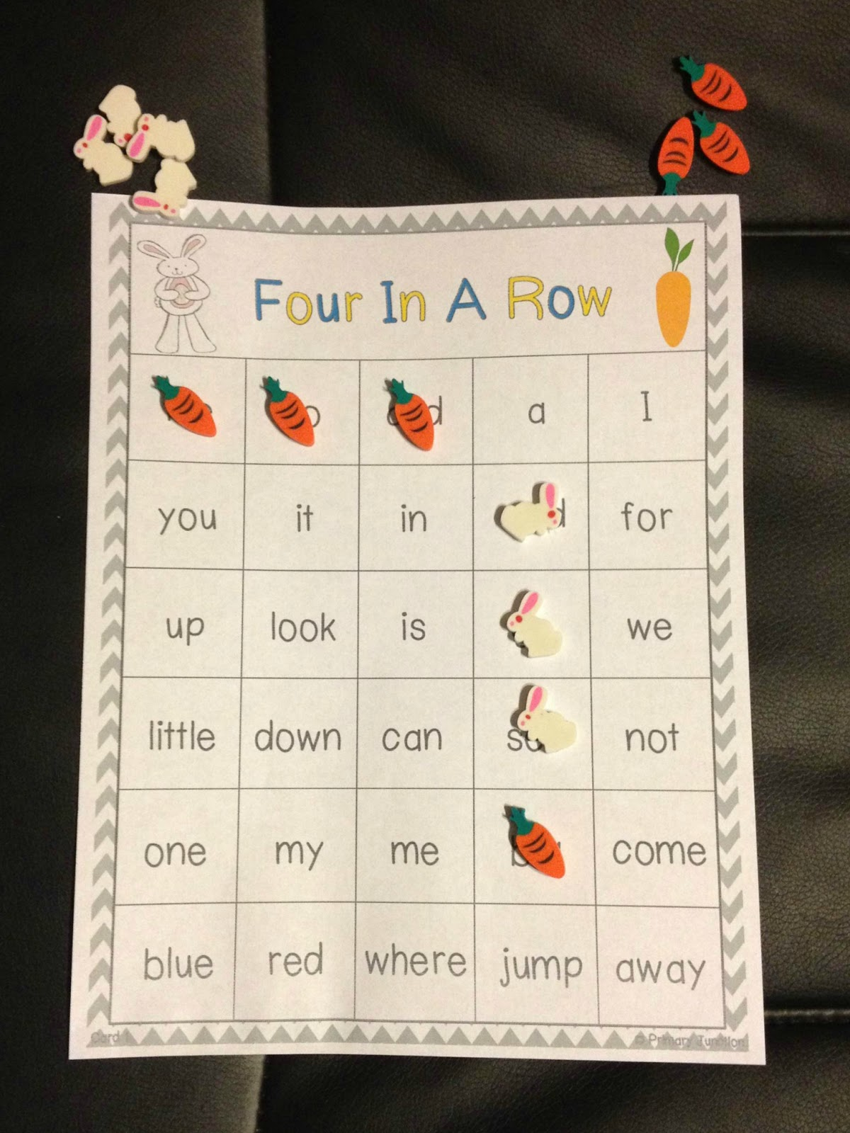 Spring Themed First Grade Sight Word Game