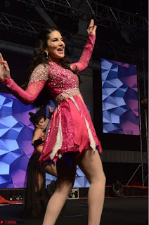 Sunny Leone Dancing on stage At Rogue Movie Audio Music Launch ~  063.JPG