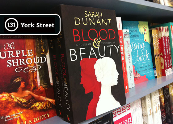 Blood & Beauty by Sarah Dunant ~ Abbey's Bookseller Pick