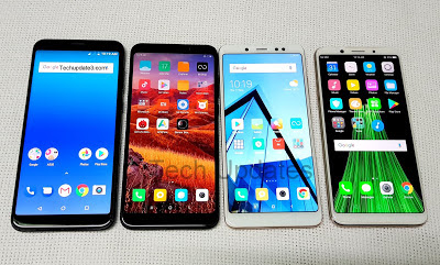 Smartphones with 18:9 Display in India under Rs 15,000
