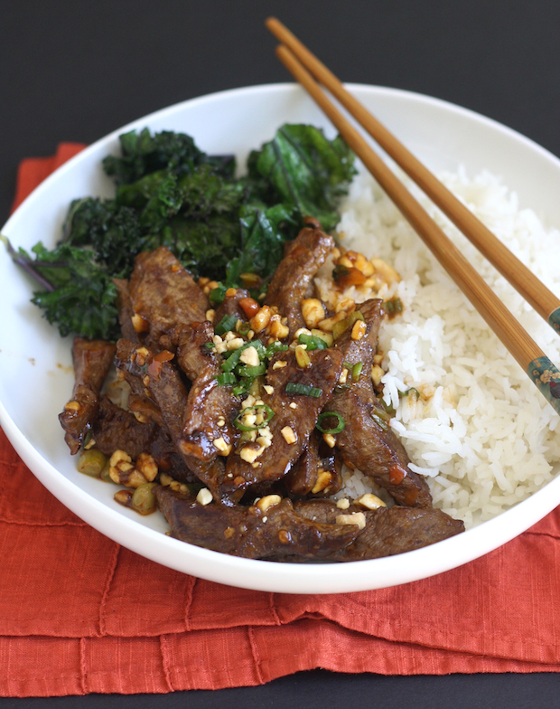 Sichuan Beef Stir Fry with Chili Bean Sauce recipe by SeasonWithSpice.com