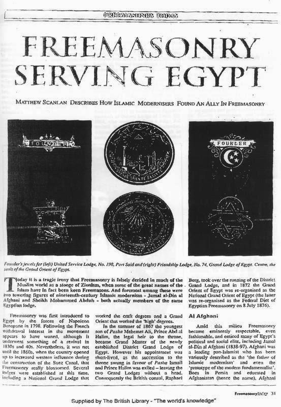 muhammed abduhun üstadı cemaleddin afgani masonluk belgesi