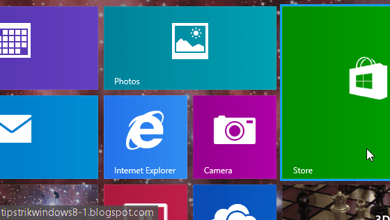cara reset semua live tile start screen di windows 8.1