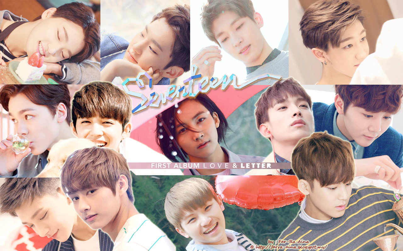 k-pop lover ^^: SEVENTEEN - Love & Letter WALLPAPER