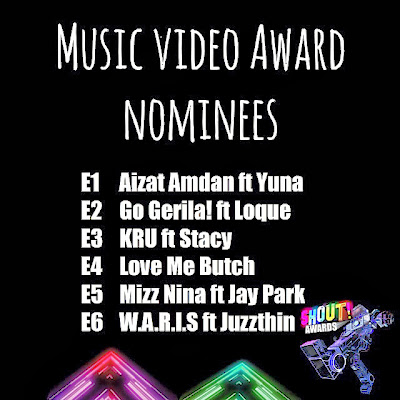 The Shout! Awards 2013 - Music Video Award Nominees