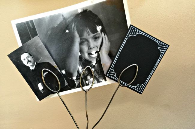 Repurposed Photo Display