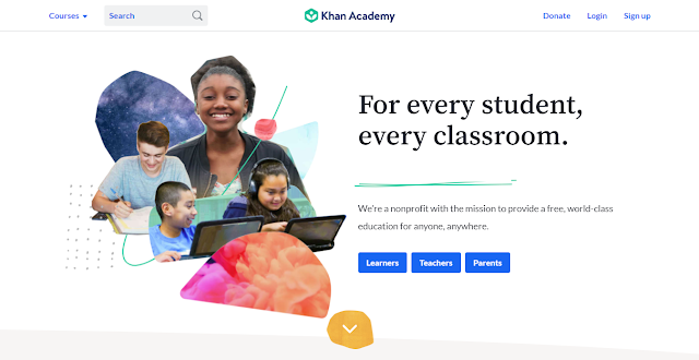 Platform Belajar Online Khan Academy