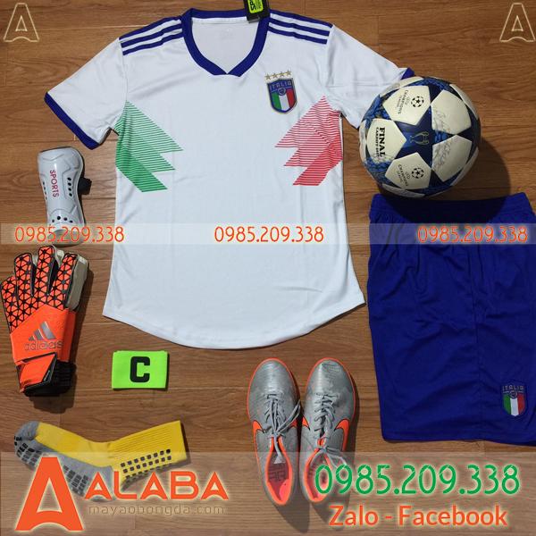 Áo đội tuyển Ý màu trắng mới nhất