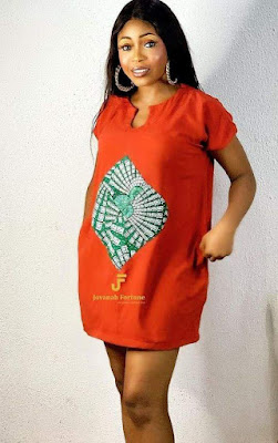 Latest English Short Gown Styles