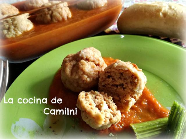 Albóndigas de boniato (La cocina de Camilni)