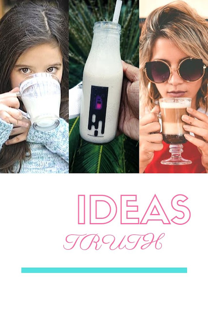ways of drinking milk