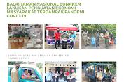 Balai Taman Nasional Bunaken Lakukan Penguatan Ekonomi Masyarakat Terdampak Pandemi Covid-19