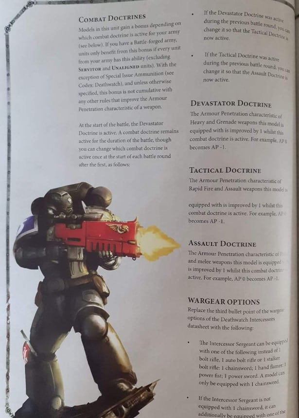 I Warhammer 40K Bitz Marines espaciales Devastator ESCUADRA CABEZA