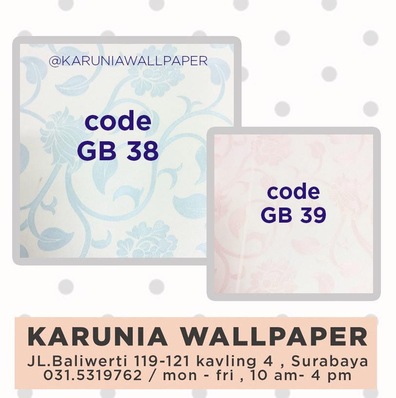 jual wallpaper dinding sulur bunga