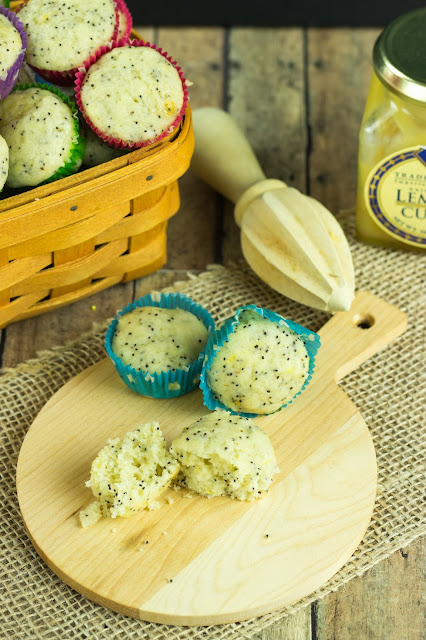 Lemon Poppy Seed Muffins | Cooking on the Front Burner #muffins #lemon