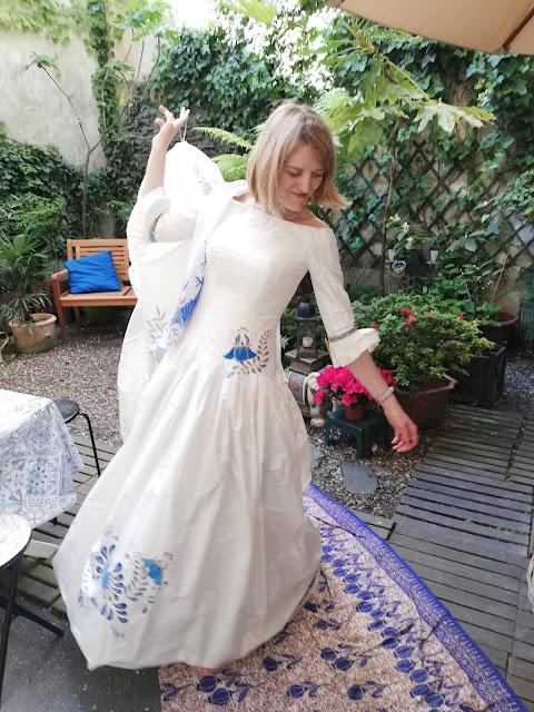 Essayage de robes de mariée
