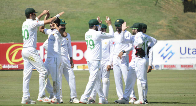 Pakistan openers cap off flawless day after Hasan, Shaheen destroy Zimbabwe