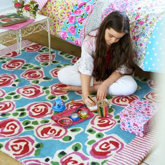 decoracion alfombras niños