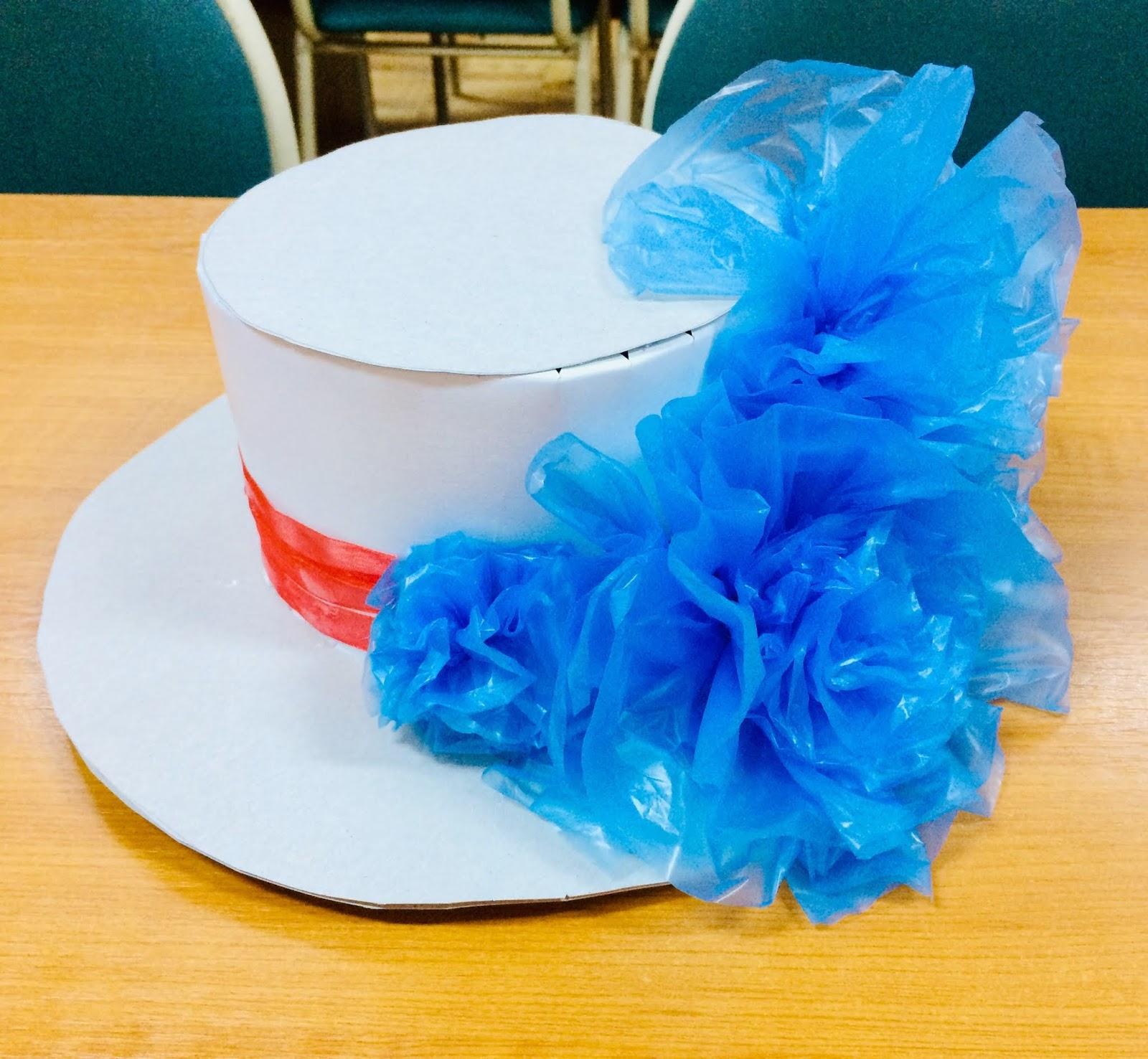 Pălărie din materiale reciclate
