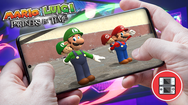 Mario & Luigi: Partners in Time Para Teléfonos Android (ROM NDS)
