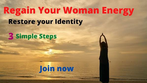 Energy restoration in woman