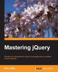 Mastering jQuery Cover