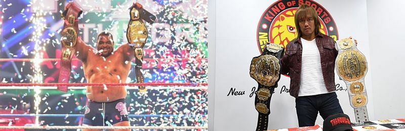 Comparing NXT & NJPW's booking of their double title matches