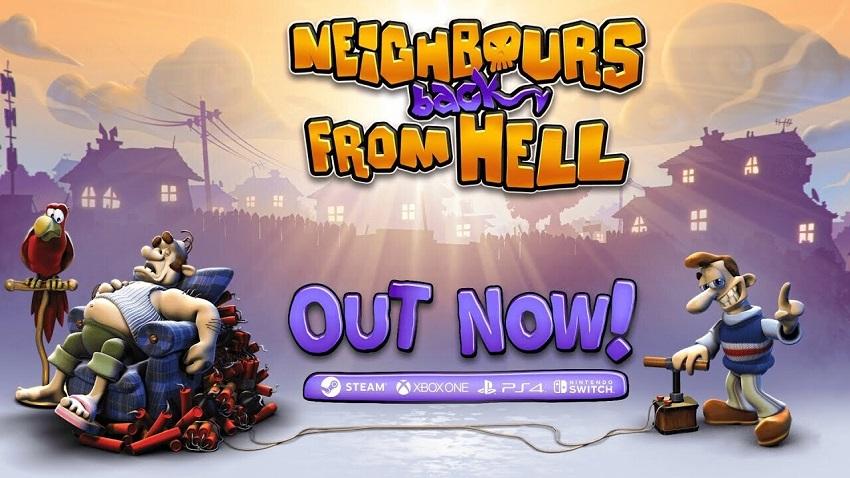 THQ Nordic выпустила ремастер Neighbours from Hell - «Как достать соседа» возвращается!