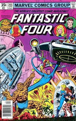 Fantastic Four #205