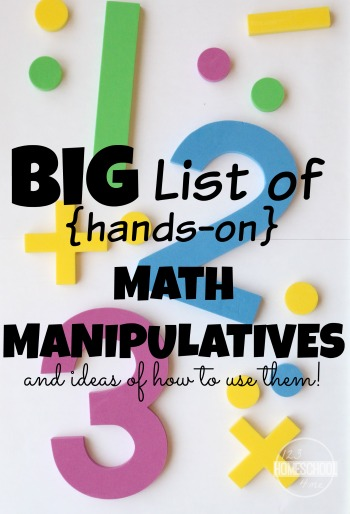must have math manipulatives