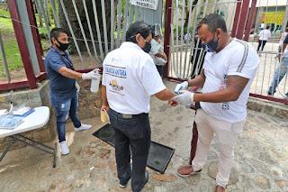 Refuerzan medidas preventivas por regreso laboral en el Ayuntamiento
