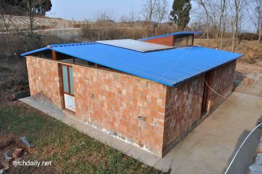 Casa económica de construcción simple y bajo costo