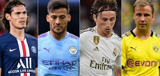 Top free agents list in-line for Transfer window 2020 in next summer