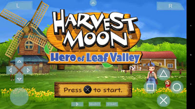 Game Harvest Moon Hero Of Leaf Valley PPSSPP ISO - BOSS DROID