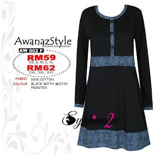 T-Shirt-Muslimah-Awanazstyle-AW002F