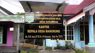 Kantor Desa Manurung Kusan Hilir