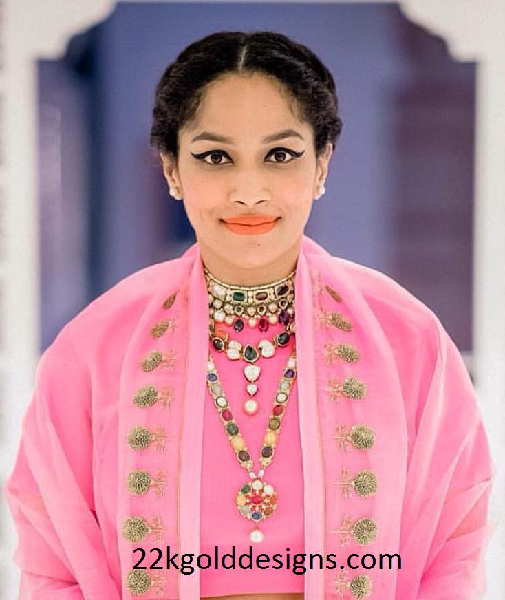 Masaba gupta in Amrapali Navaratan Jewelry