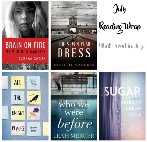 July reading wrap