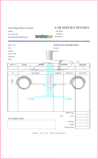 automotive repair invoice software